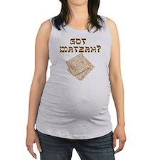 Got Matzah for Passover? Maternity Tank Top