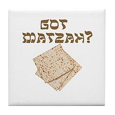 Got Matzah for Passover? Tile Coaster