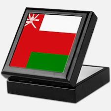 Flag of Oman Keepsake Box