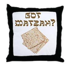 Got Matzah for Passover? Throw Pillow