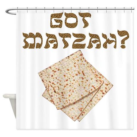 Got Matzah for Passover? Shower Curtain