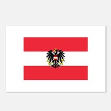Austrian Coat of Arms Flag Postcards (Package of 8