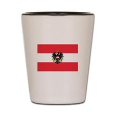 Austrian Coat of Arms Flag Shot Glass
