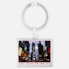 New York Souvenir Charm Times Landscape Keychain