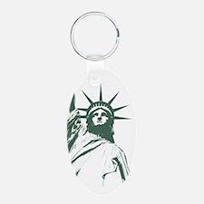 New York Souvenir Statue Keychains