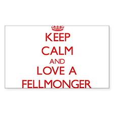 Keep Calm and Love a Fellmonger Decal