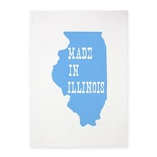 Illinois 5'x7'Area Rug