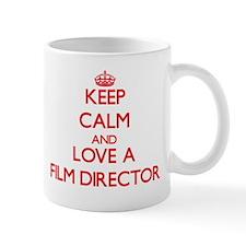Keep Calm and Love a Film Director Mugs
