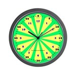 Lime Learning Wall Clock
