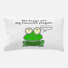 Frog Passover Plague Pillow Case