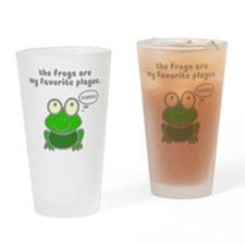 Frog Passover Plague Drinking Glass