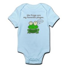 Frog Passover Plague Infant Bodysuit