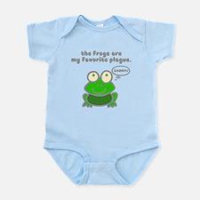 Frog Passover Plague Infant Bodysuit