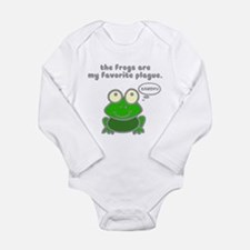 Frog Passover Plague Onesie Romper Suit