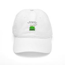 Frog Passover Plague Baseball Cap