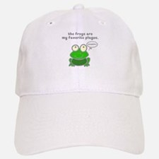 Frog Passover Plague Cap