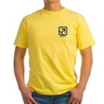 Affinity : Male Yellow T-Shirt