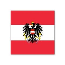 Austrian Coat of Arms Flag Sticker