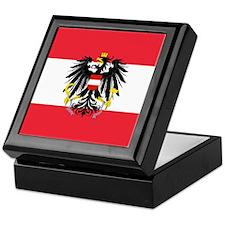 Austrian Coat of Arms Flag Keepsake Box