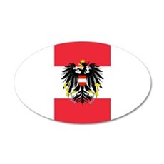 Austrian Coat of Arms Flag Wall Decal