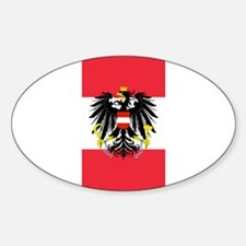 Austrian Coat of Arms Flag Bumper Stickers