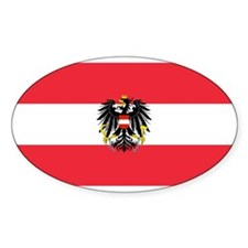 Austrian Coat of Arms Flag Decal