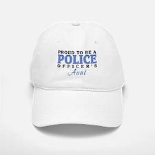 Proud Officer's Aunt Baseball Baseball Cap
