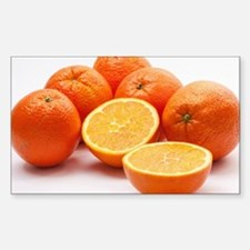 Orange Fruit Decal