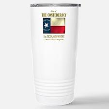 1st Texas Inf (Flag 3).png Travel Mug