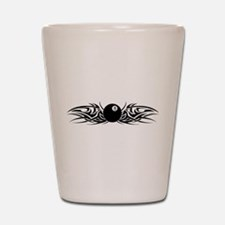 Tribal 8 Ball Shot Glass
