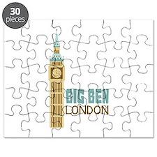 Big Ben London Puzzle