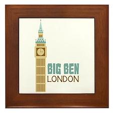 Big Ben London Framed Tile