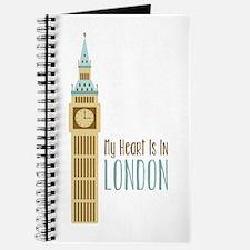 My Heart Is In London Journal