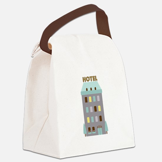 Hotel Canvas Lunch Bag