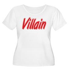 Villain Plus Size T-Shirt