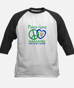 Peace Love Roosters Tee