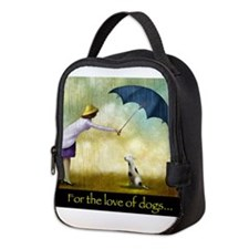 FOR THE LOVE OF DOGS Neoprene Lunch Bag
