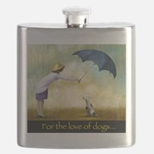 FOR THE LOVE OF DOGS Flask