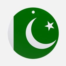 Flag of Pakistan Ornament (Round)