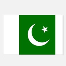 Flag of Pakistan Postcards (Package of 8)