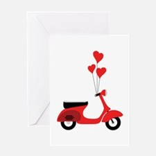 Italian Scooter Greeting Cards