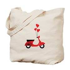 Italian Scooter Tote Bag