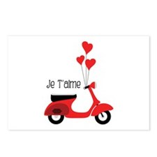 Je Taime Postcards (Package of 8)