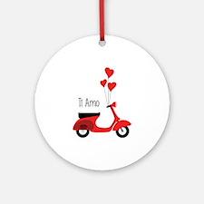 Ti Amo Ornament (Round)
