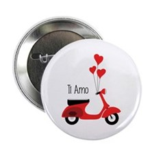 """Ti Amo 2.25"""" Button"""