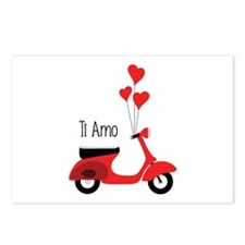Ti Amo Postcards (Package of 8)