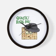 Hide the Afikomen Wall Clock