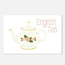 English Tea Postcards (Package of 8)
