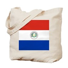 Flag of Paraguay Tote Bag