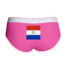 Flag of Paraguay Women's Boy Brief